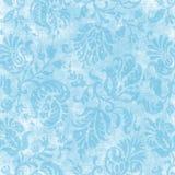 Tapicería floral azul clara de la vendimia Imagen de archivo libre de regalías