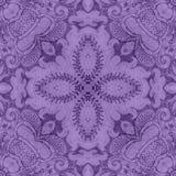 Tapicería floral púrpura de la vendimia imagen de archivo libre de regalías