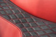 Tapicería roja Imagen de archivo