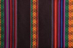 Tapicería andina tradicional Foto de archivo libre de regalías