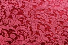 Tapicería roja Fotografía de archivo