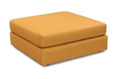 Tapicerowanie kanapy poduszka odizolowywająca na białym tle z ścinek ścieżką zdjęcia stock
