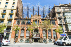 Tapies Foundation in Barcelona Stock Photo