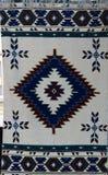 Tapijt met etnisch patroon stock foto's