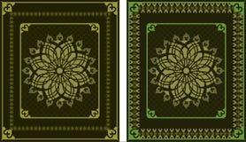 Tapijtpatroon Royalty-vrije Stock Afbeeldingen