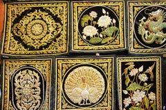 Tapijtwerk Myanmar Royalty-vrije Stock Fotografie
