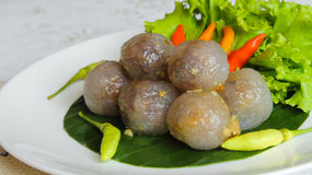 Tapioca balls Royalty Free Stock Photo