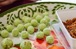 Tapioca balls with pork Stock Images