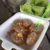 Tapioca balls or Tapioca dumpling  Royalty Free Stock Image