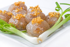 Tapioca dumplings Stock Photos