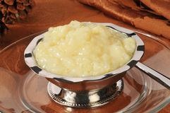 Tapioca pudding Royalty Free Stock Image