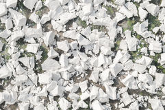 Tapioca starch. Cassava starch extraction after drying the dehydrated powder royalty free stock image