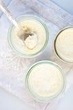 Tapioka pudding Zdjęcia Stock