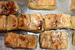 Tapioki w syropie Zdjęcia Stock