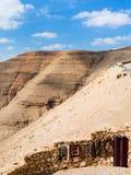 Tapis bédouins sur la stalle sur la route du ` s de roi Photographie stock