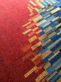 Tapis coloré Photographie stock