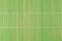 Tapis d'endroit en bambou Photo libre de droits
