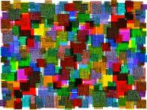 Tapis de fibre chiné par résumé Photos libres de droits