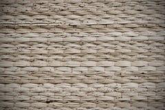 Tapis de fil, tapis en osier, fabriqués à la main Photo stock