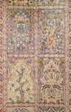 Tapis de laine et de soie de conception classique Image stock