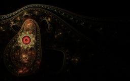 Tapis de Perse dans l'obscurité Photographie stock libre de droits