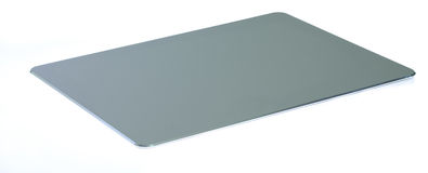 Tapis de souris en aluminium d'ordinateur Photos stock
