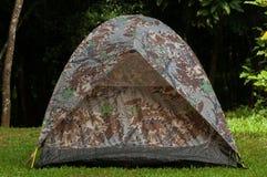 Tapis de tente à la nature Image stock