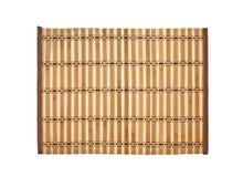 Tapis en bambou Images stock