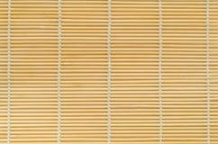 Tapis en bambou. images libres de droits