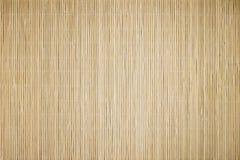 Tapis en bambou Image libre de droits