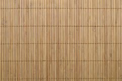 Tapis en bambou Photo stock