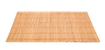 tapis en bambou de portion de paille d 39 isolement photo. Black Bedroom Furniture Sets. Home Design Ideas