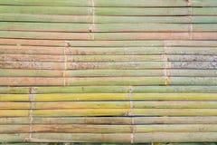 Tapis en bambou en fin de semaine de marché thaïlandais Image libre de droits
