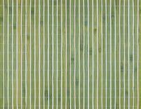 Tapis en bambou sec pour la nourriture de petit pain, fond en bambou de texture Photos stock