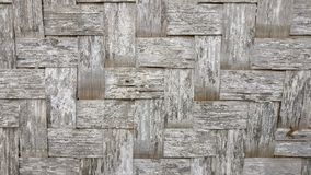 Tapis en bambou traditionnel Image stock