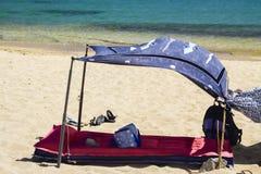 Tapis en plage Photographie stock libre de droits