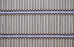 Tapis fait à partir du bambou Photos stock