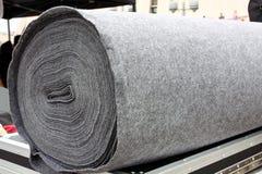 Tapis gris Photo stock