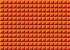 Tapis orange en plastique Photos stock
