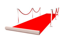 Tapis rouge Photo stock