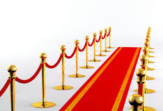 Tapis rouge 2 Photographie stock