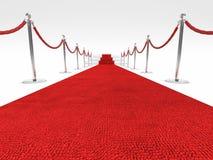 Tapis rouge Image stock