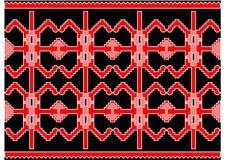 Tapis serbe intéressant Image libre de droits