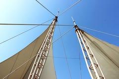 Tapis-tente Photo libre de droits