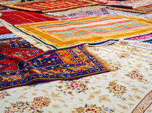Tapis traditionnels faits main Images libres de droits