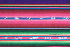 Tapisserie andine traditionnelle Photographie stock libre de droits