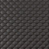Tapisserie d'ameublement Sofa Background de cuir de Brown Sofa de luxe de décoration de Brown Texture élégante de cuir de Brown a Image libre de droits