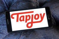Tapjoy firmy logo Zdjęcia Stock