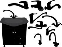 Tapkraan stock illustratie