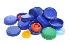 Tapones de tuerca plásticos Foto de archivo libre de regalías